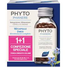 PHYTO PHYTOPHANERE INTEGRATORE ALIMENTARE CAPELLI/UNGHIE 90+90 CAPSULE - Antica Farmacia Del Lago