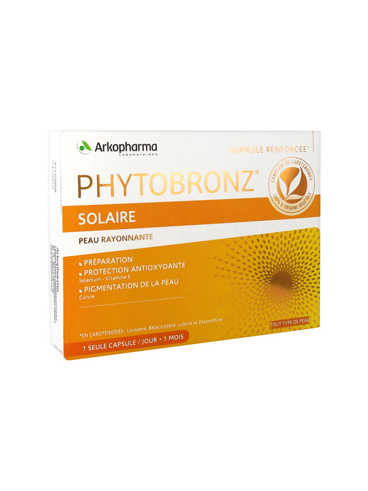 PHYTOBRONZ 30 PERLE 19 G - pharmaluna