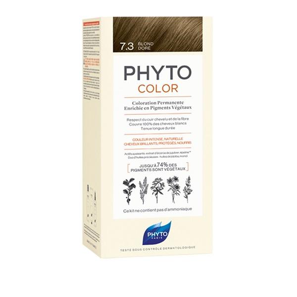 PHYTO PHYTOCOLOR 7.3 BIONDO DORATO TINTA COLORAZIONE CAPELLI - Farmastar.it