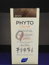 PHYTOCOLOR 8 BIONDO CHIARO 1 LATTE + 1 CREMA + 1 MASCHERA + 1 PAIO DI GUANTI - Farmawing