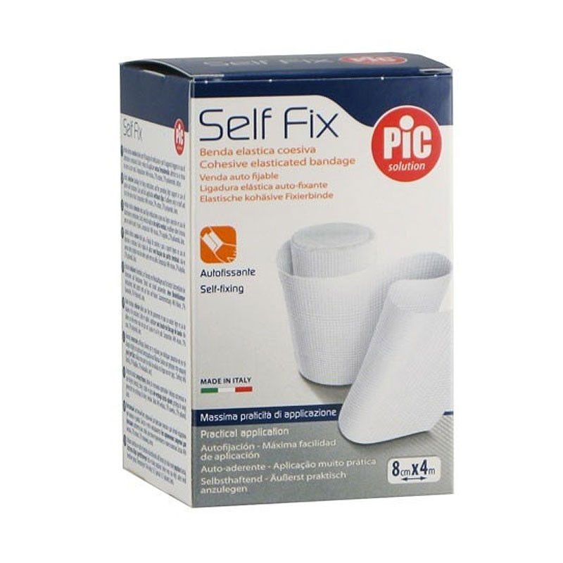 Pic Self Fix Benda Elastica Autoadesiva 8cm x 4m - Arcafarma.it