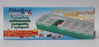 PILLOLBOX 7GG COMPACT - Farmaciasconti.it
