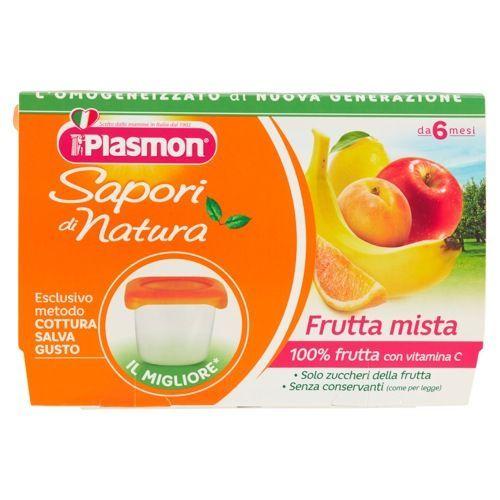 PLASMON FRUTTA MISTA 100X4  - Iltuobenessereonline.it