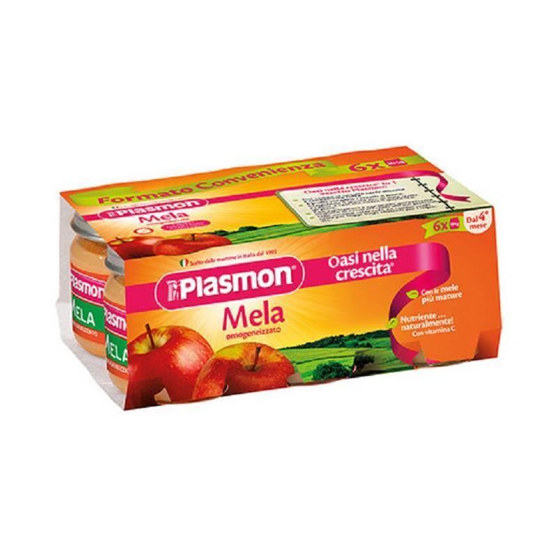 PLASMON OMOG MELA 6X 104 G - Iltuobenessereonline.it