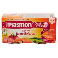 PLASMON SUGHETTO RAGU' DI MANZO 80 G X 2 PEZZI - pharmaluna