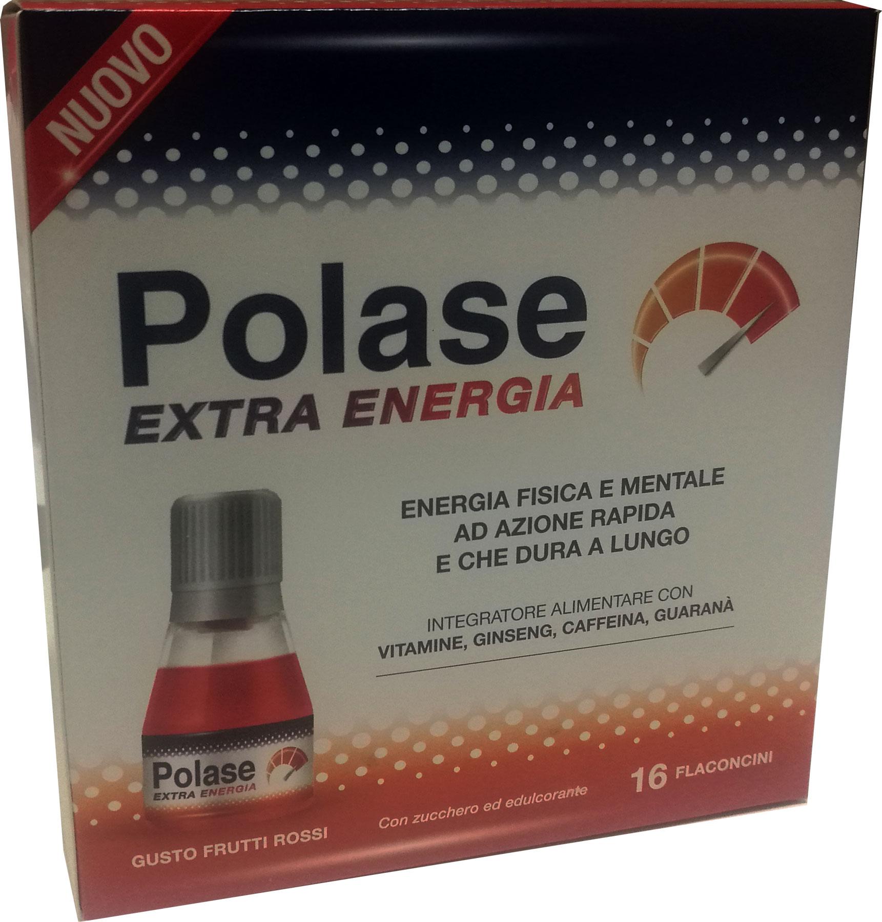 POLASE EXTRA ENERGIA 16 FLACONCINI - Farmacia Centrale Dr. Monteleone Adriano