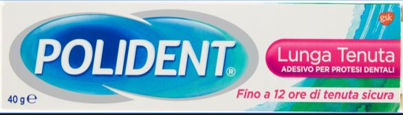 Polident Adesivo Per Dentiere Lunga Durata 40g - Farmacia33