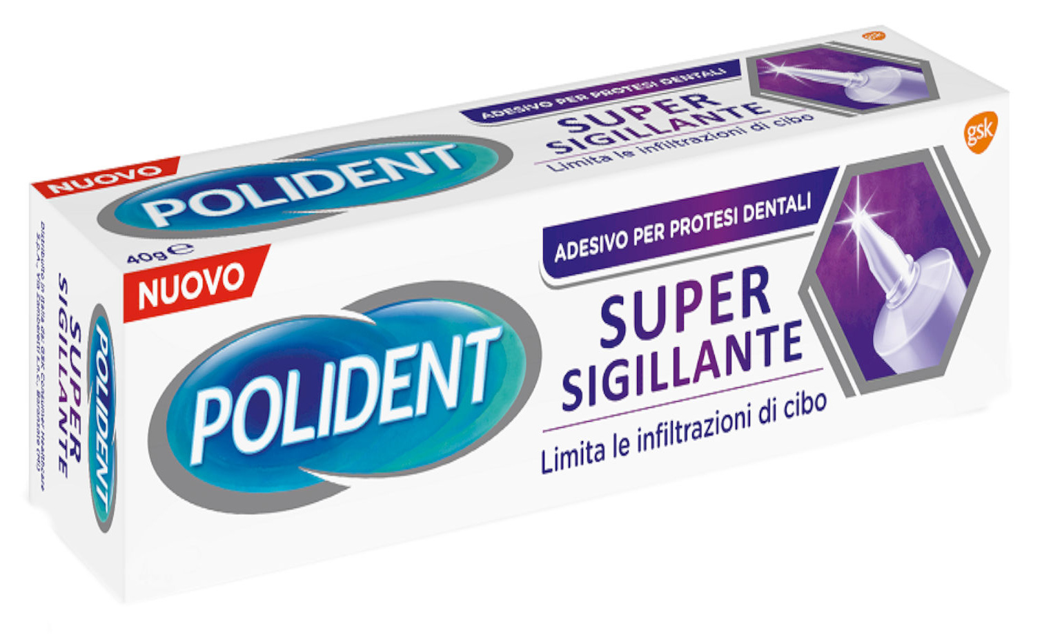 POLIDENT SUPER SIGILLANTE ADESIVO PROTESI DENTALE 70 G - Farmacia Centrale Dr. Monteleone Adriano