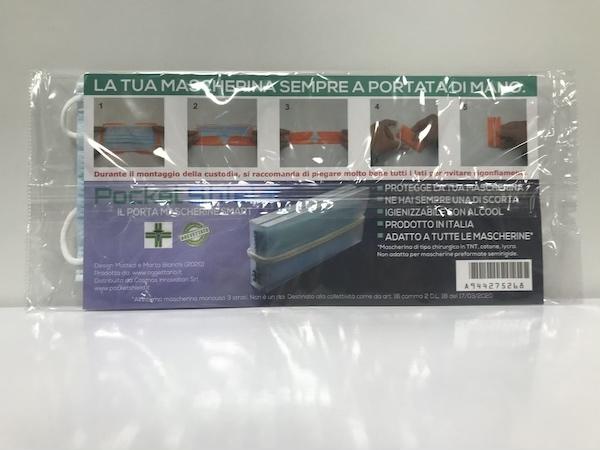 Porta Mascherina Pocket Shield 1 Pezzo - Arcafarma.it