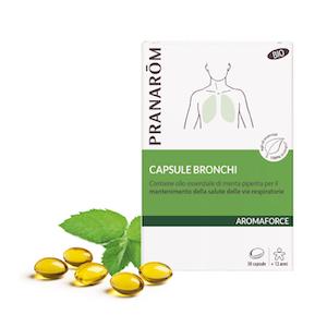 Pranarom Aromaforce Bronchi Bio 30 Capsule - Arcafarma.it