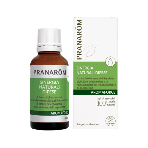 PRANAROM AROMAFORCE SINERGIA DIFESA NATURALI SPRAY 30 ML - Farmapage.it