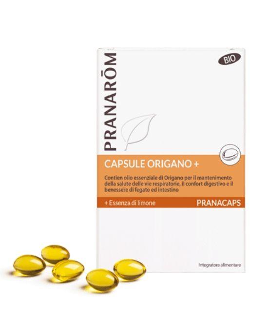 PRANAROM PRANACAPS BIO ORIGANO + 30 CAPSULE - Farmapage.it