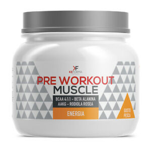 PRE WORKOUT MUSCLE 225 G - Farmapage.it