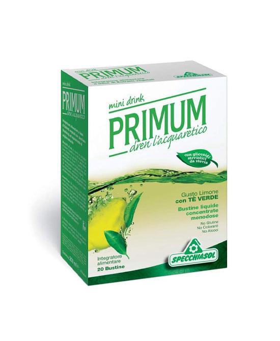 PRIMUM DRENANTE TE VERDE/LIMONE 20 BUSTINE - latuafarmaciaonline.it