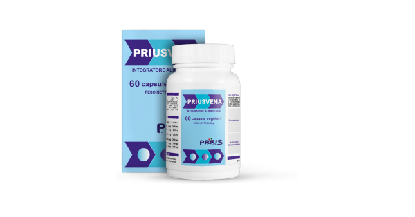 PRIUSVENA 60 CAPSULE - Farmafamily.it