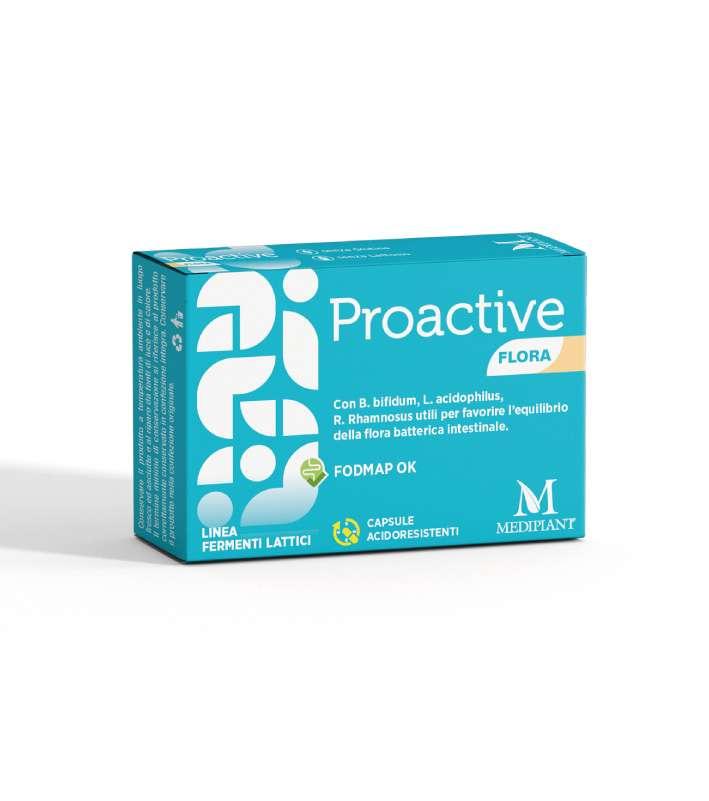 Proactive Flora 10 Capsule - SCADENZA 09/2021 - Arcafarma.it