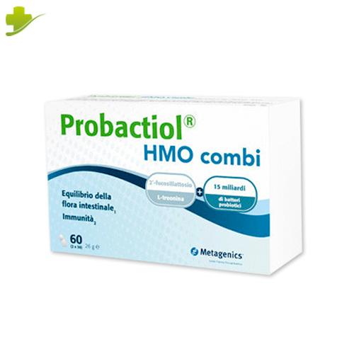 Probactiol HMO Combi Integratore Alimentare per l'equilibrio della flora intestinale Metagenics 2X30 Capsule - Farmastar.it
