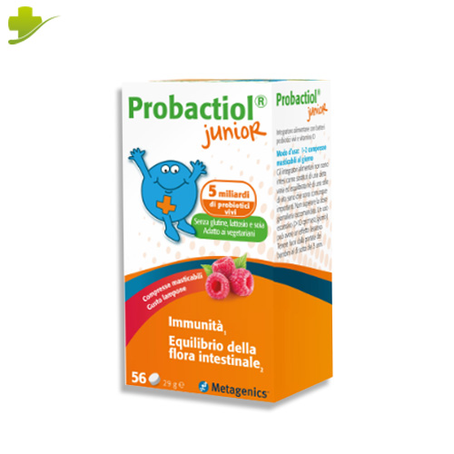 Probactiol Junior Fermenti Lattici Probiotici Metagenics 56 Compresse Masticasbili - Farmastar.it