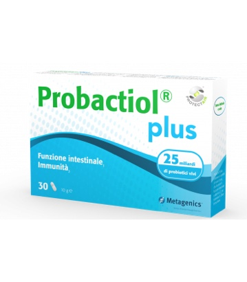 Probactiol Plus Protect Air Integratore per l'equilibrio della flora intestinale Metagenics 30 Capsule - Farmastar.it