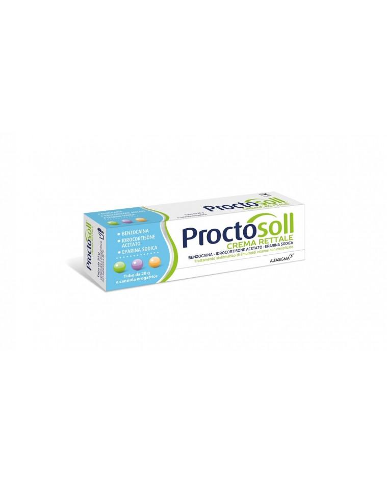 PROCTOSOLL*CREMA RETT 30G OTC - Parafarmacia la Fattoria della Salute S.n.c. di Delfini Dott.ssa Giulia e Marra Dott.ssa Michela