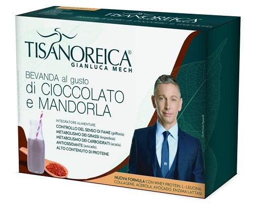 Prodotti Tisanoreica Bevanda al Cioccolato e Mandorla 4 buste da 31,5 g - Farmastar.it