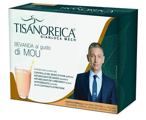 Prodotti Tisanoreica Bevanda al gusto Mou 4 buste da 31,5 g - Farmastar.it