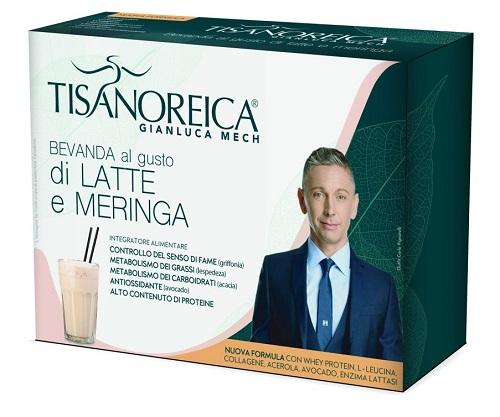 Prodotti Tisanoreica Bevanda al Latte e Meringa 4 buste da 31,5 g - Farmastar.it