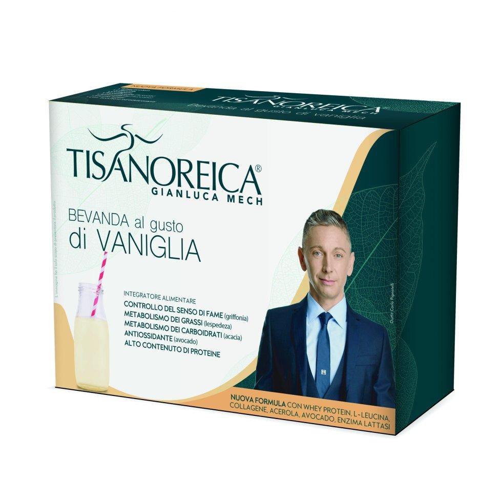 Prodotti Tisanoreica Bevanda alla Vaniglia 4 buste da 31,5 g - Farmastar.it