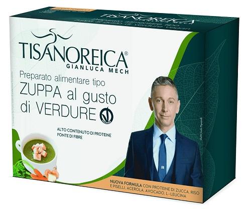 Prodotti Tisanoreica Zuppa al gusto di Verdure VEGAN 4 buste da 34 g - Farmastar.it
