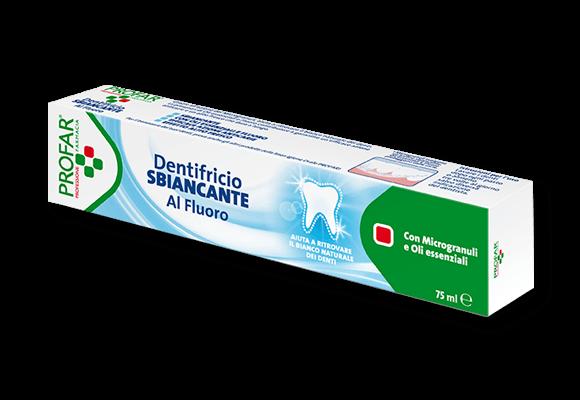 PROFAR DENTIFRICIO SBIANCANTE 75 ML - Farmawing