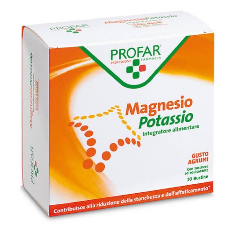 Profar Magnesio e Potassio 20 Bustine - Arcafarma.it