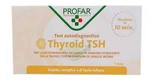 PROFAR TEST TIROIDE TSH 1 TEST - Farmawing