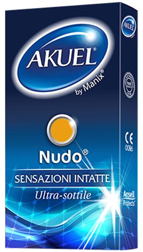 PROFILATTICO ANSELL AKUEL BY MANIX NUDO B 6 PEZZI - Farmacia Centrale Dr. Monteleone Adriano