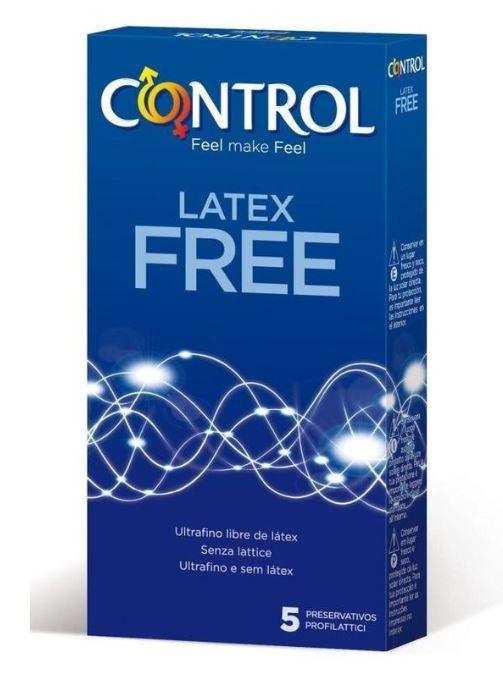 PROFILATTICO CONTROL CONTROL LATEX FREE 28 MC 2014 5 PEZZI - Farmafirst.it