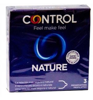 Profilattico Control New Nature 3 Pezzi - Arcafarma.it