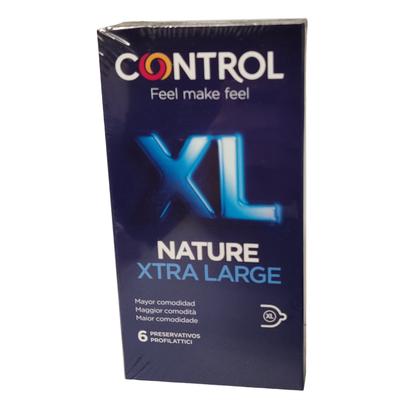 Profilattico Control New Nature XL 6 Pezzi - Arcafarma.it