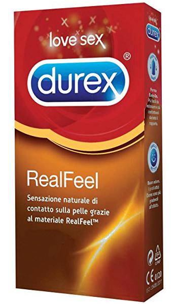 PROFILATTICO DUREX REALFEEL 6 PEZZI - Farmacia Centrale Dr. Monteleone Adriano
