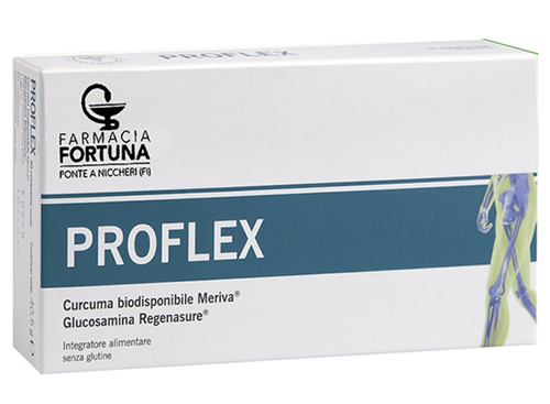 TuaFarmaonLine Proflex Integratore Apparato Osteoarticolare 30 Compresse - latuafarmaciaonline.it