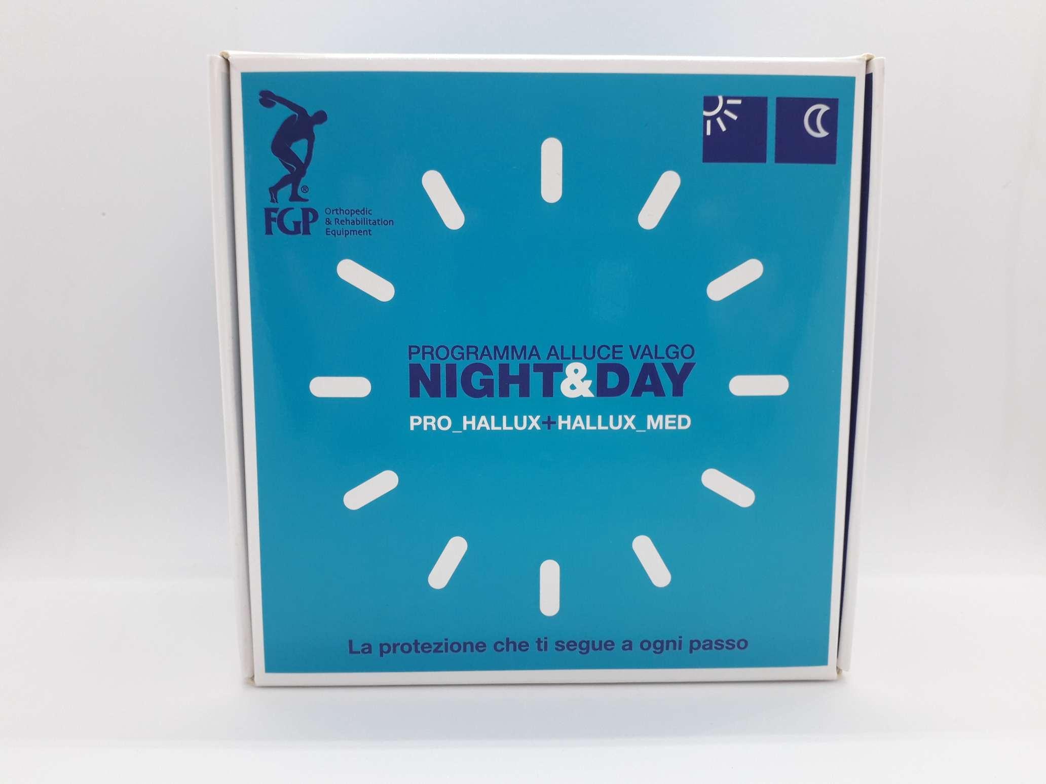 PROGRAMMA NIGHT&DAY ALLUCE VALGO SINISTRO SMALL - Farmaciaempatica.it