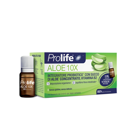 PROLIFE ALOE 10 FLACONI X 8 ML - Zfarmacia