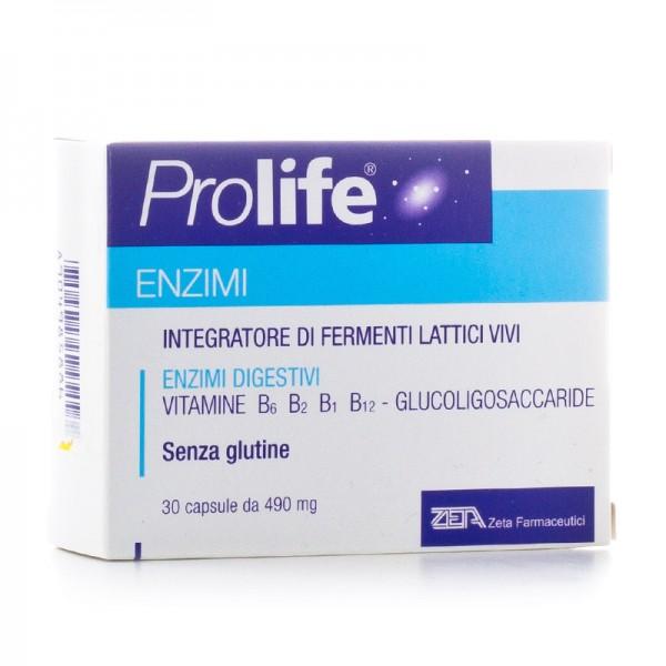 Prolife Enzimi 30 Capsule - Iltuobenessereonline.it