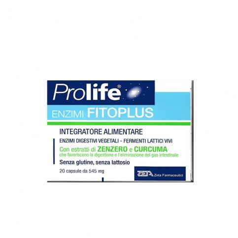 PROLIFE ENZIMI FITOPLUS 20 CAPSULE - Farmawing