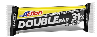 Proaction ProMuscle Double Bar 31% al Cocco e Caramello 60 g. scadenza 09 marzo 2021 - latuafarmaciaonline.it
