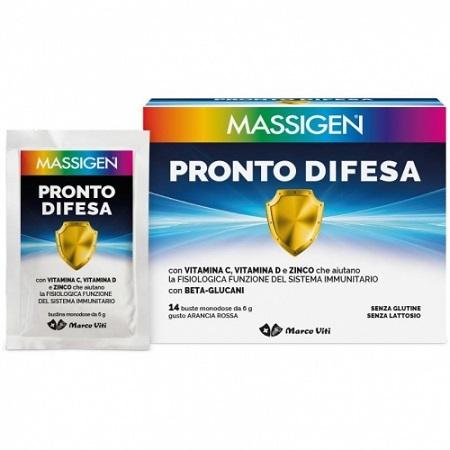 MASSIGEN PRONTO DIFESA 14 BUSTINE DA 6 G - Farmafamily.it