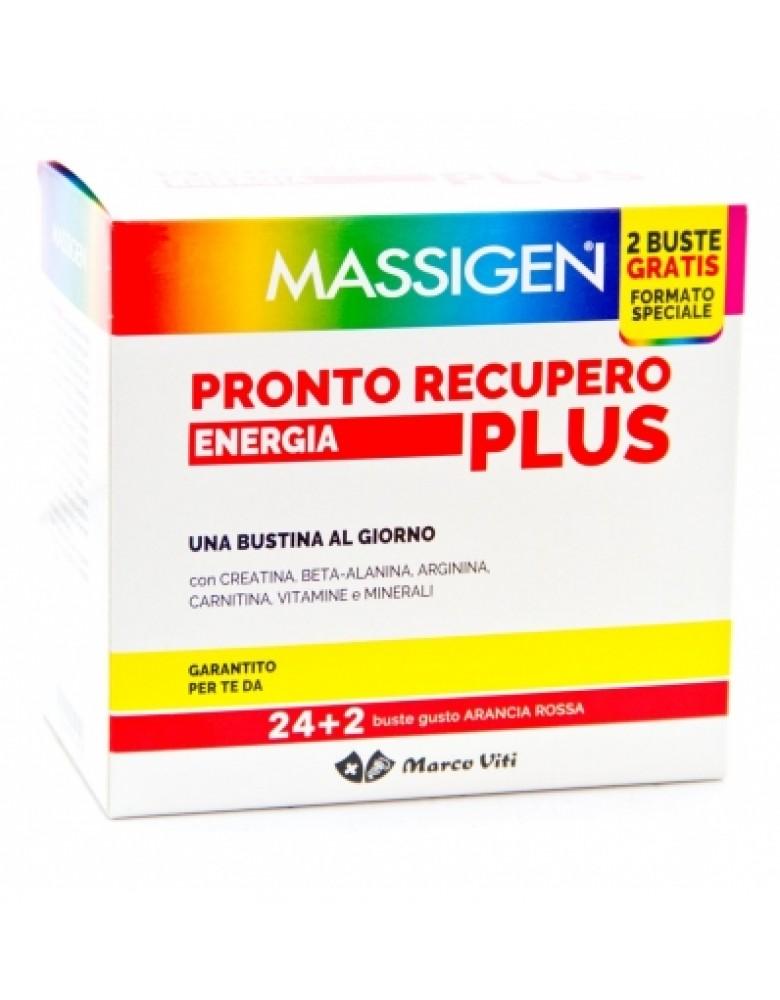 MASSIGEN PRONTO RECUPERO PLUS 24 BUSTINE + 2 BUSTINE - Farmabaleno