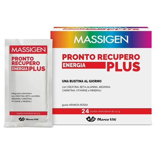 MASSIGEN PRONTO RECUPERO PLUS 24 BUSTINE + 2 BUSTINE - Zfarmacia