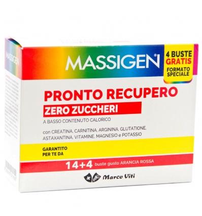 Massigen pronto recupero zero zuccheri 14 bustine + 4 omaggio - latuafarmaciaonline.it