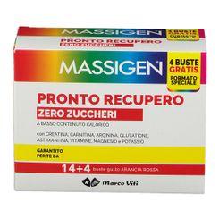 MASSIGEN PRONTO RECUPERO SENZA ZUCCHERO 14 BUSTINE + 4 BUSTINE - Farmafamily.it