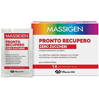 MASSIGEN PRONTO RECUPERO ZERO ZUCCHERO 14 BUSTINE + 4 BUSTINE - Farmapage.it
