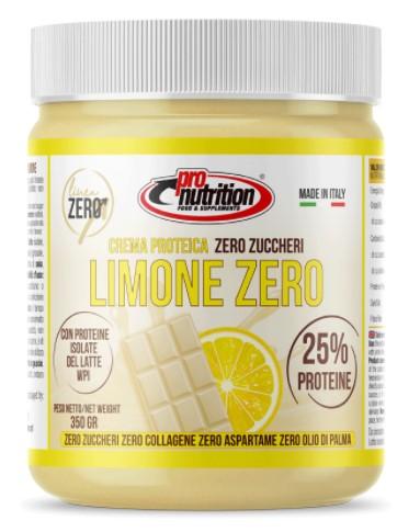 PRONUTRITION BIANCO LIMONE ZERO CREMA PROTEICA 25% 350 G - Farmacia Massaro